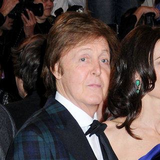 Paul McCartney in Alexander McQueen: Savage Beauty Costume Institute Gala