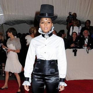 Janelle Monae in Alexander McQueen: Savage Beauty Costume Institute Gala