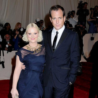 Amy Poehler, Will Arnett in Alexander McQueen: Savage Beauty Costume Institute Gala