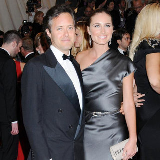 David Lauren, Lauren Bush in Alexander McQueen: Savage Beauty Costume Institute Gala