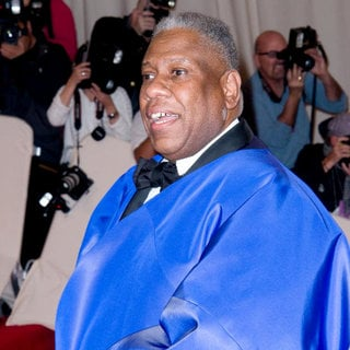 Andre Leon Talley in Alexander McQueen: Savage Beauty Costume Institute Gala