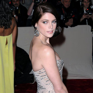 Ashley Greene in Alexander McQueen: Savage Beauty Costume Institute Gala