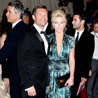 Ryan Seacrest, Julianne Hough in Alexander McQueen: Savage Beauty Costume Institute Gala