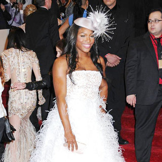 Serena Williams in Alexander McQueen: Savage Beauty Costume Institute Gala
