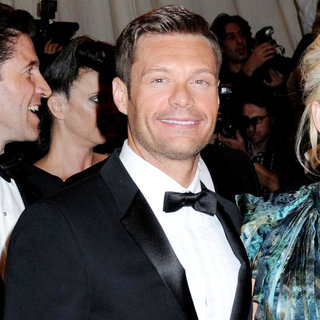Ryan Seacrest in Alexander McQueen: Savage Beauty Costume Institute Gala