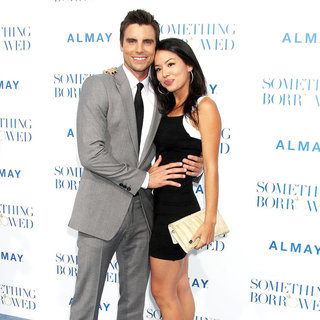 "Colin Egglesfield, Stephanie Jacobsen in Los Angeles Premiere of ""Something Borrowed"""