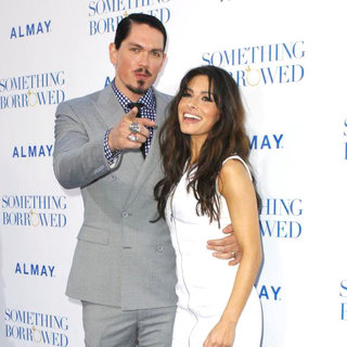 "Steve Howey, Sarah Shahi in Los Angeles Premiere of ""Something Borrowed"""
