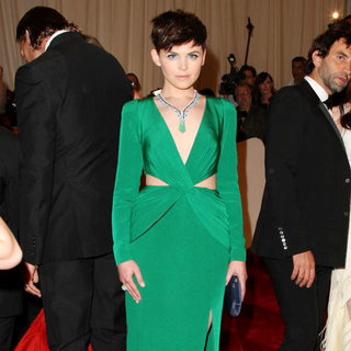 Ginnifer Goodwin in Alexander McQueen: Savage Beauty Costume Institute Gala