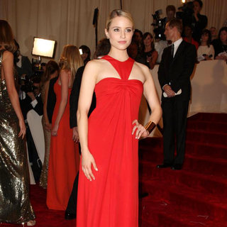 Dianna Agron in Alexander McQueen: Savage Beauty Costume Institute Gala