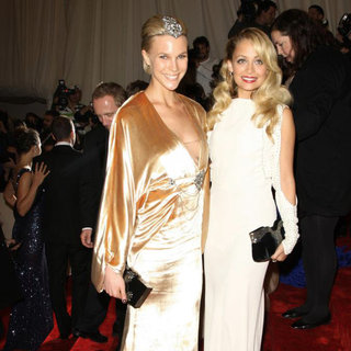 Britt Maren, Nicole Richie in Alexander McQueen: Savage Beauty Costume Institute Gala