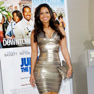 Tracey Edmonds in Los Angeles Premiere of 'Jumping the Broom'