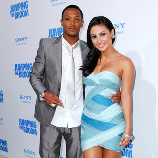Lil' Romeo, Francia Raisa in Los Angeles Premiere of 'Jumping the Broom'