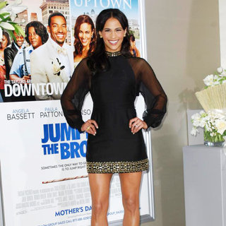 Paula Patton in Los Angeles Premiere of 'Jumping the Broom'