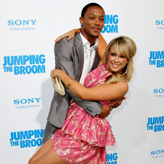 Lil' Romeo, Chelsie Hightower in Los Angeles Premiere of 'Jumping the Broom'