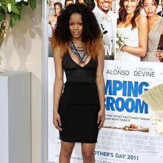 Teyana Taylor in Los Angeles Premiere of 'Jumping the Broom'