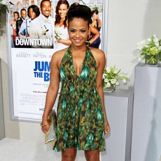 Christina Milian in Los Angeles Premiere of 'Jumping the Broom'