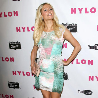 Paris Hilton - NYLON Magazine Annual May Young Hollywood Issue Party