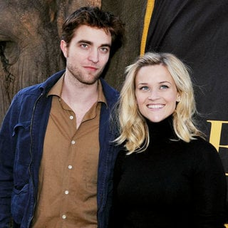 Robert Pattinson, Reese Witherspoon in 'Water for Elephants' Press Conference