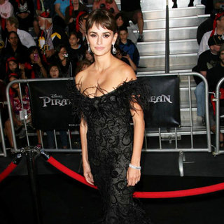 Penelope Cruz in 'Pirates of the Caribbean: On Stranger Tides' World Premiere