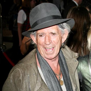 Keith Richards in 'Pirates of the Caribbean: On Stranger Tides' World Premiere
