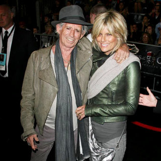 Keith Richards, Patti Hansen in 'Pirates of the Caribbean: On Stranger Tides' World Premiere