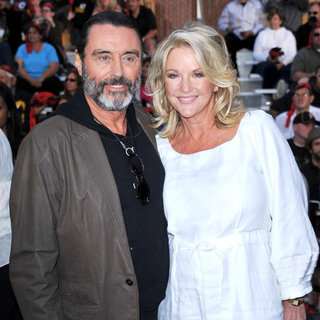 Ian McShane, Gwen Humble in 'Pirates of the Caribbean: On Stranger Tides' World Premiere