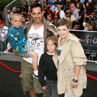 Adrian Pasdar, Natalie Maines in 'Pirates of the Caribbean: On Stranger Tides' World Premiere