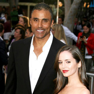 Rick Fox, Eliza Dushku in 'Pirates of the Caribbean: On Stranger Tides' World Premiere