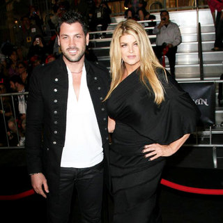 Maksim Chmerkovskiy, Kirstie Alley in 'Pirates of the Caribbean: On Stranger Tides' World Premiere