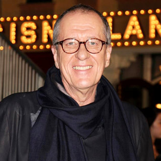 Geoffrey Rush in 'Pirates of the Caribbean: On Stranger Tides' World Premiere