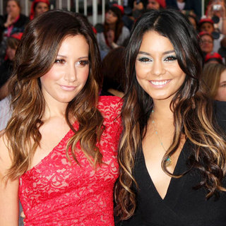 Ashley Tisdale, Vanessa Hudgens in 'Pirates of the Caribbean: On Stranger Tides' World Premiere