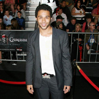 Corbin Bleu in 'Pirates of the Caribbean: On Stranger Tides' World Premiere