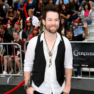 David Cook in 'Pirates of the Caribbean: On Stranger Tides' World Premiere