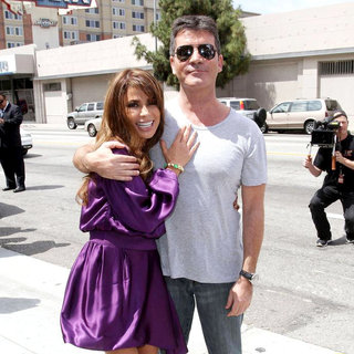 Paula Abdul, Simon Cowell in 'The X Factor' Auditions