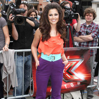 Cheryl Cole in 'The X Factor' Auditions