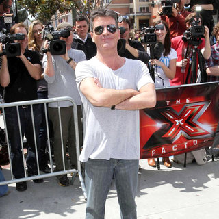 Simon Cowell - 'The X Factor' Auditions