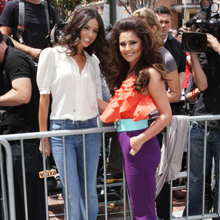 Terri Seymour, Cheryl Cole in 'The X Factor' Auditions