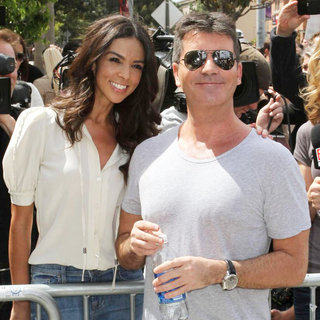 Terri Seymour, Simon Cowell in 'The X Factor' Auditions