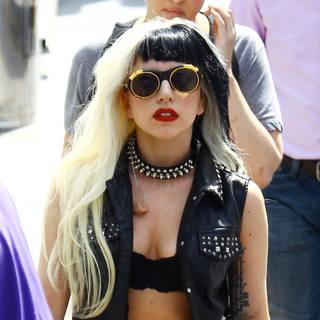Lady GaGa in Lady GaGa Leaving Rehearsals During The 2011 Cannes International Film Festival - Day 1