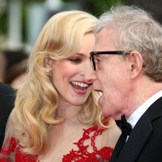 Rachel McAdams, Woody Allen in 2011 Cannes International Film Festival - Day 1 Opening Ceremony and Midnight in Paris Premiere