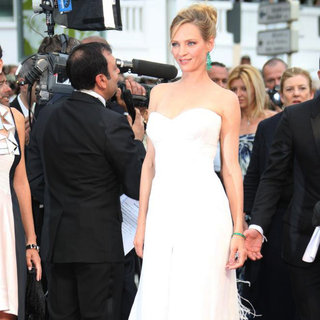 Uma Thurman in 2011 Cannes International Film Festival - Day 1 Opening Ceremony and Midnight in Paris Premiere