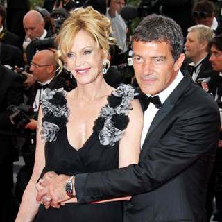 Melanie Griffith, Antonio Banderas in 2011 Cannes International Film Festival - Day 1 Opening Ceremony and Midnight in Paris Premiere