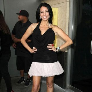 Danielle Staub in Lemon Basket Restaurant Grand Opening