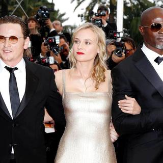 Benoit Magimel, Diane Kruger, Djimon Hounsou in 2011 Cannes International Film Festival - Day 2 - Sleeping Beauty - Premiere