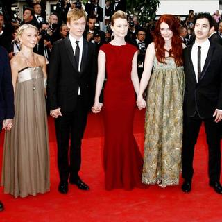 Gus Van Sant, Henry Hopper, Mia Wasikowska, Bryce Dallas Howard, Jason Lew in 2011 Cannes International Film Festival - Day 2 - Sleeping Beauty - Premiere