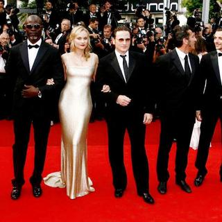 Denis Menochet, Djimon Hounsou, Diane Kruger, Benoit Magimel in 2011 Cannes International Film Festival - Day 2 - Sleeping Beauty - Premiere