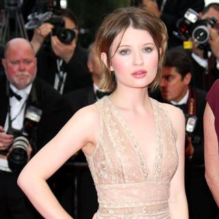Emily Browning in 2011 Cannes International Film Festival - Day 2 - Sleeping Beauty - Premiere