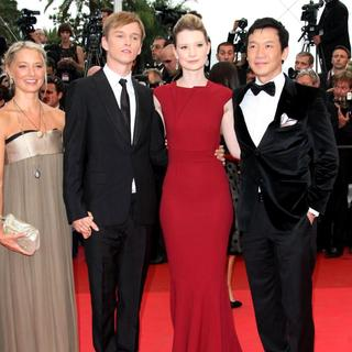 Henry Hopper, Mia Wasikowska in 2011 Cannes International Film Festival - Day 2 - Sleeping Beauty - Premiere