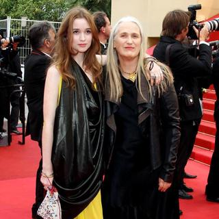 Alice Englert, Jane Campion in 2011 Cannes International Film Festival - Day 2 - Sleeping Beauty - Premiere
