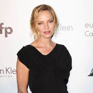 Uma Thurman in 2011 Cannes International Film Festival - Day 2 - Calvin Klein Honor Women in Independent Film Event